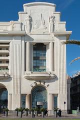 Art Deco Facade, Palais de la Méditerranee Hotel, Promenade des Anglais, Nice, (Peter Cook UK) Tags: france art deco facade south dazur cote hotel de nice anglais la palais promenade 2019 méditerranee des