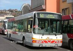 Bus Eireann DWR17 (01D4798). (Fred Dean Jnr) Tags: buseireannroute51 buseireann daf sb120 wright cadet dwr17 01d4798 parnellplacebusstation cork february2006