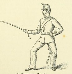 This image is taken from Page 17 of A new system of sword exercise for infantry [electronic resource] (Medical Heritage Library, Inc.) Tags: gymnastics exercise martial arts military personnel wellcomelibrary ukmhl medicalheritagelibrary europeanlibraries date1876 idb20419569