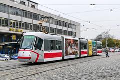 BRN_1936_201811 (Tram Photos) Tags: skoda škoda 13t brno brünn strasenbahn tram tramway tramvaj tramwaj mhd šalina dopravnípodnikměstabrna dpmb