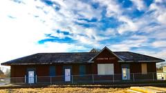 Johnston City C&EI Depot (davecantrell.net) Tags: illinois depot cei chicagoandeasternillinois railroad johnstoncity