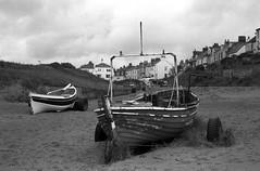 (Adventures in film) Tags: kiev kiev4m redoktober iccd2018 foma fomapan fomapan100 caffenol caffenolch 35mm film analogue analog blackandwhite jupiter8 beach boats teesside marske cleveland