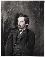 Michael O'Laughlin resize edit (rob.vndnB) Tags: the library congress colorization colorized portrait photogragh photographs picture public old rvndnb archives border image glass wet collodion negatives united states man uss montauk saugus civil war 1865 hirst d milhollen donald mugridge gardner alexander lincolns assassins