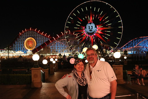 "Tracey and Scott at Disney California Adveture • <a style=""font-size:0.8em;"" href=""http://www.flickr.com/photos/28558260@N04/44232404940/"" target=""_blank"">View on Flickr</a>"