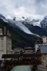Ice tongue over Chamonix (SGBB discovering) Tags: chamonix alps ice glacier france alpinism origin