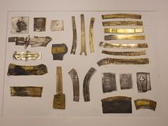 Karen Bartlett's Patination Samples - 1 (the justified sinner) Tags: justifiedsinner patination sample metal brass silver copper karenbartlett jewellery schoolofjewellery birmingham bcu cityuniversity panasonic 17 20mm gh2 gx7