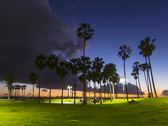 Venice Beach sunset (George Baritakis) Tags: venice beach california losangeles usa travel sunset lights pacific ocean