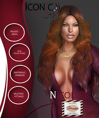 ICONIC_NICOLLET_SAT (Neveah Niu /The ICONIC Owner) Tags: sale saturday iconic 3dmesh