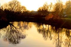 Sunset reflections (CKeys to my heart) Tags: sunset reflections sonnenuntergang landscape reflexos pôrdosol