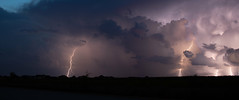 An eve with a storm - Part 2 (Badhri Narayanan) Tags: lightning thunder storm clouds flashed champaign illinois