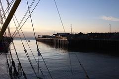 Light, Whitstable (NovemberAlex) Tags: colour whitstable kent silhouette water seaside light