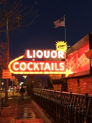ATOMIC LIQUOR COCKTAILS LAS VEGAS NEVADA