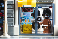 Even Superheroes Do Laundry (3rd-Rate Photography) Tags: spiderman milesmorales lego minifig minifigure laundry marvel intothespiderverse toy toyphotography spidermanintothespiderverse canon 5dmarkiii 100mm jacksonville florida 3rdratephotography earlware 365