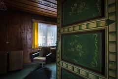 Take your Seat! / Posaďte se! (katka.havlikova) Tags: abandoned lost derelict hotel decay germany německo opuštěný urbex urban exploration urbanexploration travel beauty interior design mountains