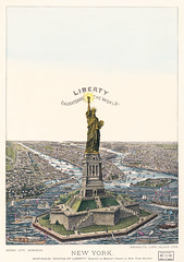 The Great Bartholdi Statue, Liberty Enlightening the World, published by Currier & Ives. Original from Library of Congress. Digitally enhanced by rawpixel. (Free Public Domain Illustrations by rawpixel) Tags: america american antique art bartholdi bartholdistatue chromolithograph color currier currierives currierandives deco decor decoration drawings enlightening france freedom french gift giftoffrance great greatbartholdistatue harbor historical history illustrated illustration landmark landscape liberty newyork old people sketch state states statue statueofliberty symbol united unitedstates usa vintage world