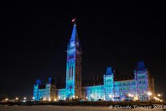 Parliament Hill (Claude Tomaro) Tags: christmas lights meetup ottawa ontario canada claude tomaro night lightshow
