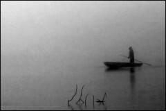 Charon or Taxi for Orpheus (MK - fotky) Tags: ferry blackwhite hades boatman greek myths styx