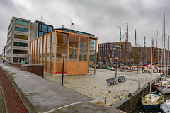 DSCF6716.jpg (amsfrank) Tags: zeilschool haven architecture ijburg winter amsterdam candid