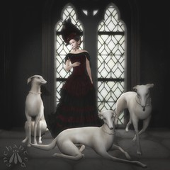 Fae Duchess of Doncaster, with Dogs (gwen.enchanted) Tags: maitreya catwa lumae s0ng empyreanforge silvanmoondesigns sempiternal {anc}