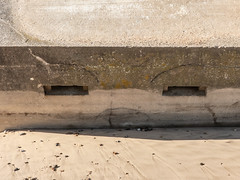 Nothing to smile about! (Kath Stennett) Tags: aaacompetitionsanddisplays building coast covehithe faces military places subjects suffolk u3athemes erosion pillbox beccles england unitedkingdom gb