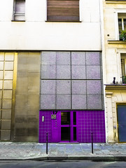 Yes this was edited, but that's because we all love purple & gold (ericste.in) Tags: ifttt 500px brick architectural residential door masonry real estate urban landscape geometric paris france architecture editing lightroom adobe purple color fun gold add new keyword