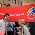 Helene Hellmark Knutsson Attending Stockholm Pride 2015 thumbnail