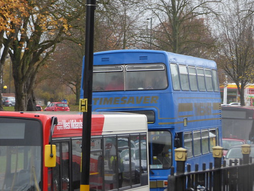 Timesaver Yardley Wood Bus Garage 80th Birthday A Photo On