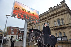 Remembrance Sunday, Blackburn 2018 (Blackburn with Darwen Council) Tags: news towncentre remembrancesunday
