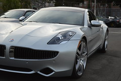 FISKER KARMA Exotic Car located in Los Angeles at 777exotics.com (Exotic & Luxury Cars) Tags: fisker karma exoticcars luxurycar 777exoticscom losangeles california 2900srobersonblvd