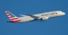N803AL AMERICAN AIRLINES 787-8 (john smitherman-http://canaviaaviationphotography.) Tags: n803al boeing boeing787 787 7878 planespotting plane london lhr londonheathrow heathrow 1dmk4 100400l aviation aircraft airliner airplane aeroplane airport jet jetliner americanairlines american egll flight fly flug flughafen takeoff feltham