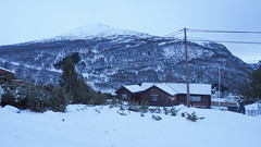Snow village 雪地人家 (cyangLtravel) Tags: landscape snowy hill house white cold tone less simple