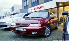 Citroën Xantia 2.0 HDi Exclusive 2000 (XBXG) Tags: 335fet92 citroën xantia 20 hdi exclusive 2000 citroënxantia diesel red rood rouge gjo nieuwjaarsreceptie 2019 garage johan oldenhage tarwestraat nieuw vennep nieuwvennep nederland holland netherlands paysbas old french car auto automobile voiture ancienne française vehicle outdoor