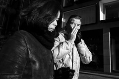 Images on the run.... (Sean Bodin images) Tags: november2018 winter streetphotography streetlife seanbodin strøget streetportrait amagertorv people photojournalism photography copenhagen citylife candid city citypeople women woman winther aok dmjx