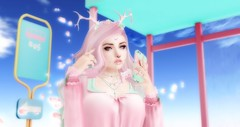 Kawaii Sakura (hopesandalphon) Tags: secondlife catwa maitreya supernatural olive sweetthing amala dichotomy luas mulloy bunbun