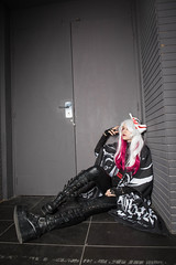 Kitsune (Claude Schildknecht) Tags: vampireyuri ad600pro beautybox broncolor cosplay eurexpo europe france girl godox japantouch japon kitsune lyon manfrotto mask places woman yurikurohime