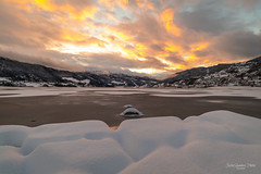 Vossevangen (Justin Saunders) Tags: vossevangen norway gossland sunset snow beauty fire sky mountains nature outdoors travel tranquility explore d850 nikon