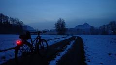 nightride (Automatikman) Tags: 29112018 0415mw bike biketour stevens pcarpo tour schnee winter nightride nr salzburg salzburgerland austria österreich bumm bm line plus led linetec tec