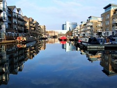 The Grand Union Canal In Brentford - London. (Jim Linwood) Tags: canal brentford london england