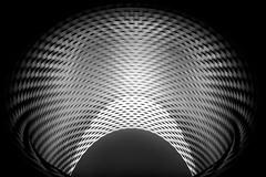Sickle (HWHawerkamp) Tags: switzerland basel messe building pov patterns monochrome reavel modern structures