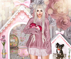 Be Mine (JarSephora) Tags: imerence ashanti cupid inc event limerence sstore una carol valentines day valentine heart pinnk rose veechi scrlett liner pumec sophiaa black bantam love struck long haired chihuahua pet puppy dog halfdeer haalf deer sweetheart playhouse house doghouse mossminkk mosssmink moss confetti scatter bottle flowers dreaamcatcher chapter four evennt tcf catwa catya heaad bento maitreya laraa mesh boody besom ariskea vintam bubbly cauldron cutie secondife second life ssl sl style fahs fahison cute blon blonde blond