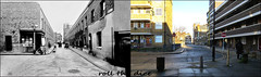 Kinglake Street/Smyrks Road`1937-2018 (roll the dice) Tags: london southwark se1 se17 old surreal sad mad closed vanished demolished local history retro bygone streetfurniture architecture nostalgia comparison changes collection canon tourism tourists publichouse boozer beer lae alley dirty grim people fashion rough home dwelling urban england krays uk classic art ale tavern bermondsey bicycles cat doors cap bus pram clothes balcony bollards truman windows council estate traffic victorian walworth