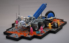 Syrsan - NCS drilling rover (adde51) Tags: adde51 lego moc febrovery febrovery2019 rover mars scifi foitsop sphere ground technique wheel drill