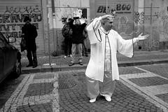 (Instant Karma!) (Robbie McIntosh) Tags: leicam9p leica m9p rangefinder streetphotography 35mm leicam autaut candid strangers leicaelmarit28mmf28iii elmarit28mmf28iii elmarit 28mm blackandwhite chinesenewyear chinese yearofthepig napoli naples