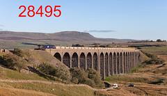 robfrance5d2_28495_280918_x66301_ribblehead_viaduct_6c89_drs_edr16lr6pse15coefx4sraw2weblowres (RF_1) Tags: 2018 66 66301 ballast britain british bulk class66 dales diesel directrailservices drs electromotive emd england freight generalmotors gm haulage hauling loco locomotive locomotives nds networkrail networkrailnationaldeliveryservice nucleardecommissioningauthority rail railfreight railroad rails railway railwayviaduct railways ribblehead ribbleheadviaduct rural sc settlecarlisle train trains transport uk unitedkingdom viaduct yorkshire