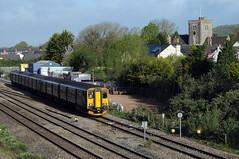 Magor 74733 (kgvuk) Tags: magor railway southwalesmainline train diesel multiple unit dmu gwr class1502 150247