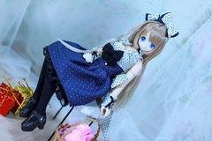IMG_3679 (kwokt59) Tags: doll azone azonejp 16 excute cute raili white blue silver birthday toy cannon sewing dress