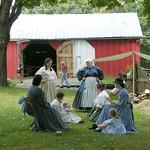 Women in 1800's Dresses thumbnail