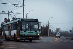 Hitting the road again (WT_fan06) Tags: ikarus 415t trolleybus stb bucharest cityscape electric urban street photography nikon d3400 dslr flickr oldtimer retro vintage nikkor 7dwf coth5 january 2019 road blue 97 5210