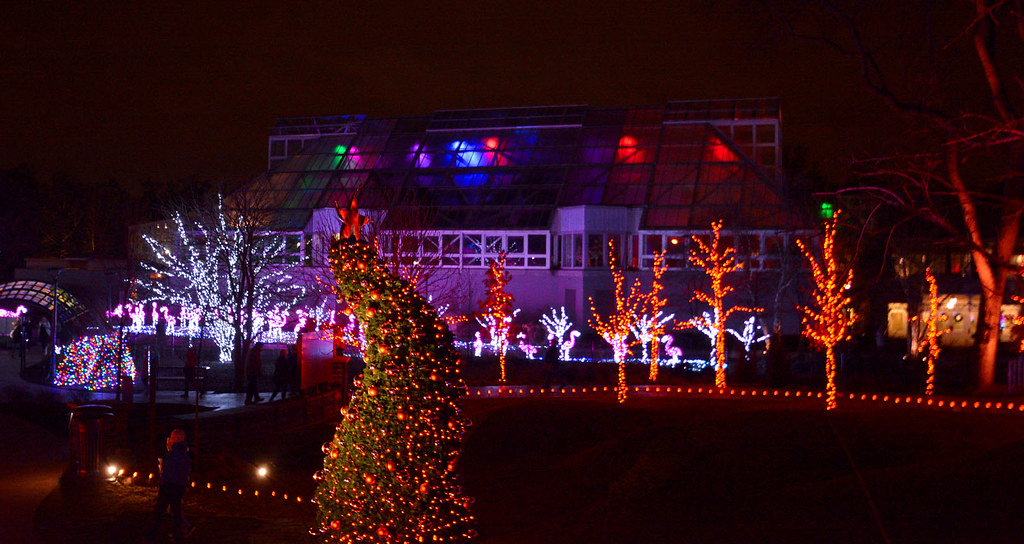 Franklin Park Conservatory Christmas Lights.The World S Most Recently Posted Photos Of Columbus And