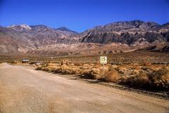 Entering Ballarat, California (rocinante11) Tags: ballarat ghosttown california unitedstates inyocounty desert panamintrange deathvalley film slidefilm fujifilm fujiprovia